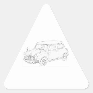 Mini Cooper Sticker