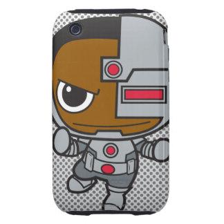 Mini Cyborg iPhone 3 Tough Cover