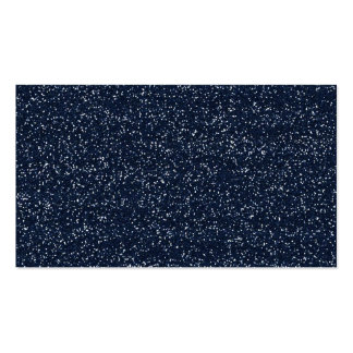MINI DARK NAVY NIGHT BLUE GLITTER TEXTURE TEMPLATE BUSINESS CARD TEMPLATE