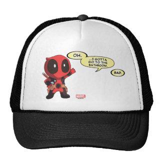 Mini Deadpool Cap