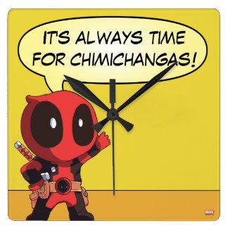 Mini Deadpool Clocks