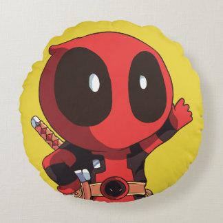 Mini Deadpool Round Cushion