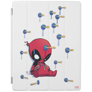 Mini Deadpool Suction Cup Darts iPad Cover