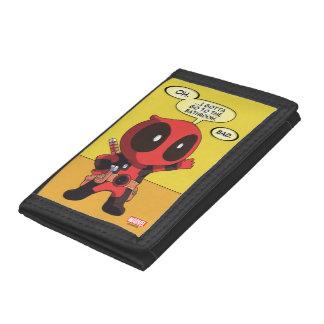 Mini Deadpool Trifold Wallets