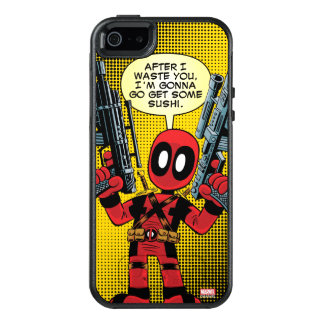 Mini Deadpool With Guns OtterBox iPhone 5/5s/SE Case