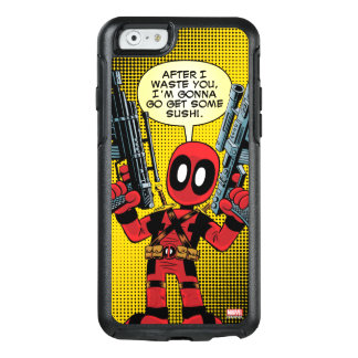 Mini Deadpool With Guns OtterBox iPhone 6/6s Case