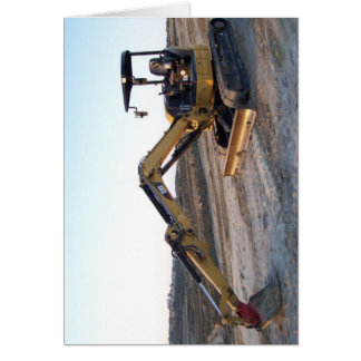 Mini Excavator Card