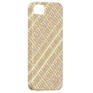 Mini Flip Flops Design (pink/yellow) iPhone 5 Cases