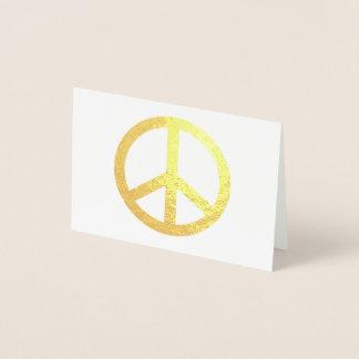 Mini Foil Note Cards