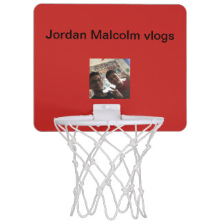 Mini Jordan and Malcolm vlogs mini basketball hoop