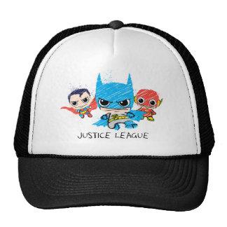 Mini Justice League Sketch Cap
