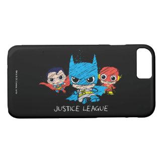Mini Justice League Sketch iPhone 7 Case