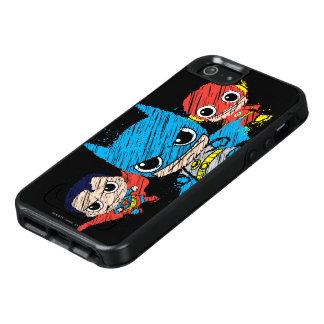 Mini Justice League Sketch OtterBox iPhone 5/5s/SE Case