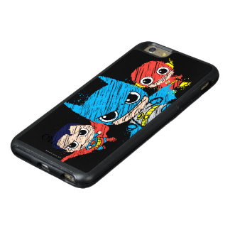 Mini Justice League Sketch OtterBox iPhone 6/6s Plus Case