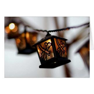 mini-lanterns greeting card