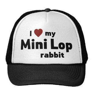 Mini Lop rabbit Cap
