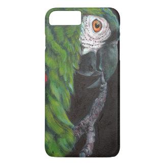 Mini macaw iPhone 7 plus case