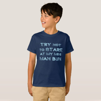 Mini Man Bun T-Shirt