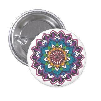 Mini Mandala N°5 3 Cm Round Badge