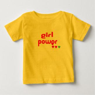 Mini Me Retro Girl Power Baby T-Shirt