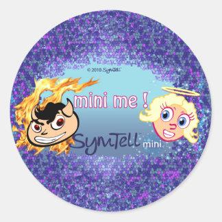 Mini Me Round Round Sticker
