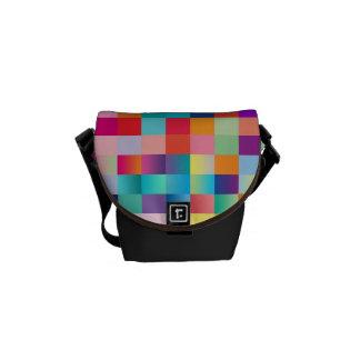 "Mini Messenger Bag: ""Multi Colored"" Courier Bags"