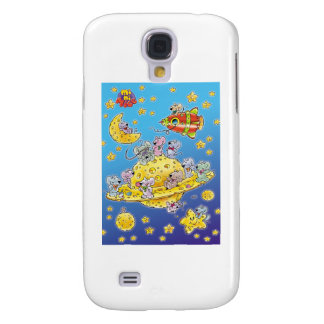 Mini Mice Lost in Space Samsung Galaxy S4 Covers