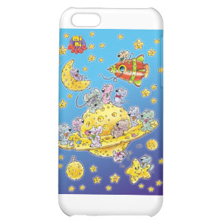 Mini Mice Lost in Space iPhone 5C Cases