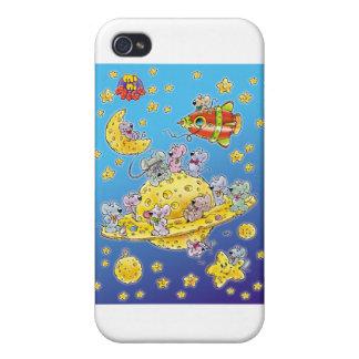 Mini Mice Lost in Space iPhone 4/4S Case