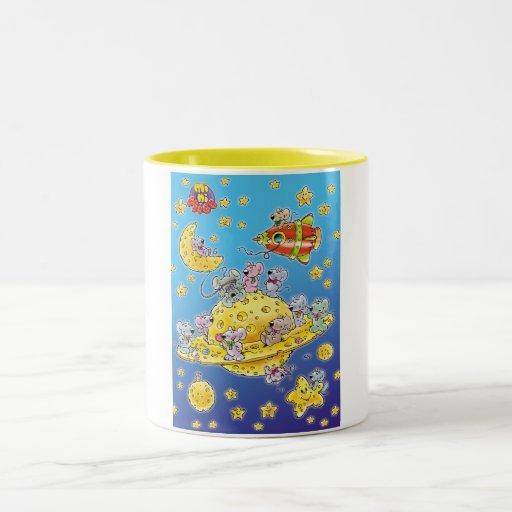 Mini Mice Lost in Space Coffee Mugs