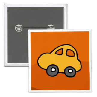 Mini Mini Car 15 Cm Square Badge