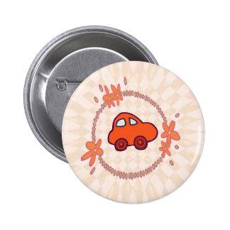 Mini Mini Car 6 Cm Round Badge