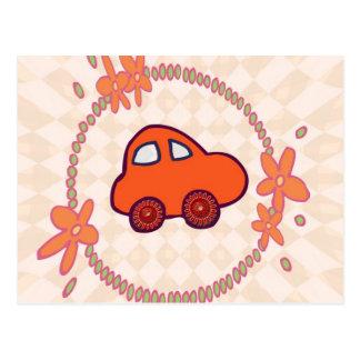 Mini Mini Car Postcard