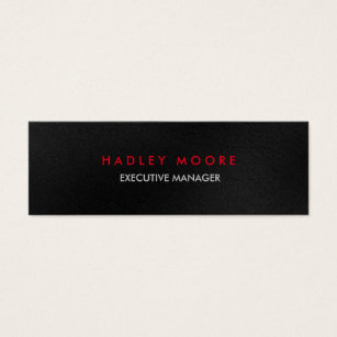 Tax business cards business card printing zazzle mini modern grey red professional trendy plain mini business card reheart Images