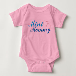 Mini Mommy Baby Onepiece Baby Bodysuit