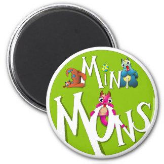 Mini Mons Logo Magnet