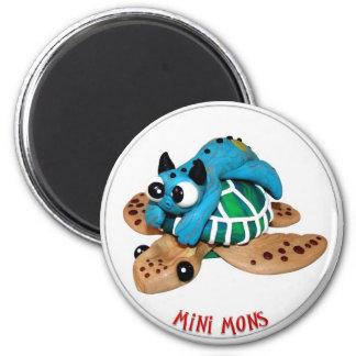 """Mini Mons """"Take a Ride"""" Magnet"""