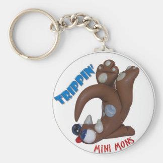 "Mini Mons ""Trippin"" Key-chain Key Ring"