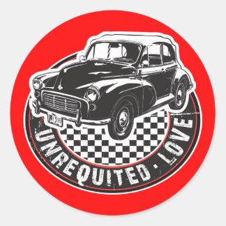 Mini Morris Round Sticker