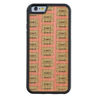 MINI MULTICOLORED CASSETTES Cherry Wood Case Cherry iPhone 6 Bumper