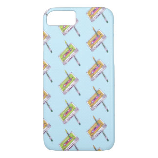 MINI MULTICOLORED CASSETTES iPhone 7, Barely There iPhone 7 Case