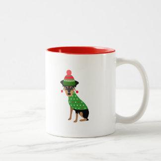 Mini Pin Christmas Mug
