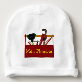 Mini Plumber Infant Hat Baby Beanie