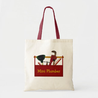 Mini Plumber Tote Bag