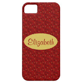 Mini Poinsettia Flowers Case For The iPhone 5