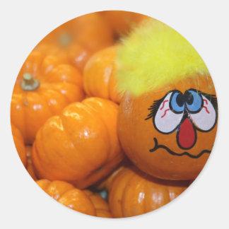 Mini Pumpkin Face Stickers