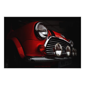 Mini rally lights high quality photography photo print