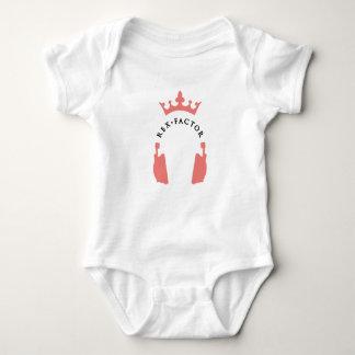 Mini Rex fan baby grow Baby Bodysuit