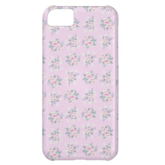 Mini Rose_Pink iPhone 5C Covers
