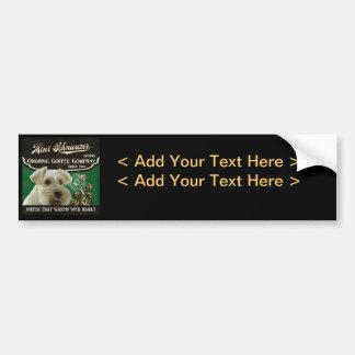 Mini Schnauzer Brand – Organic Coffee Company Bumper Sticker